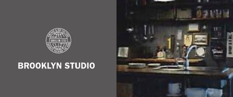 ブルックリンスタジオのロゴとイメージ画像