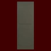 鋼製ドアを思わせるオリジナル2パネルのルームドア