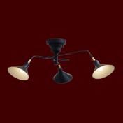 ナチュラルな造形が特徴的なリビング照明
