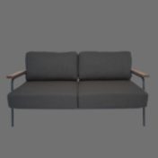 コンパクトな部屋にも使いやすい2Pソファー