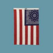 バンダナを使ったオリジナル星条旗