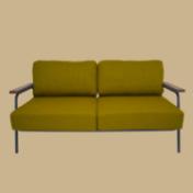 コンパクトな部屋にも使いやすい2Pソファ