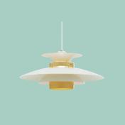 インダストリアルなペンダント照明